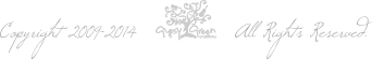 Copyright 2009-2014 Gypsy Green Creations. All Rights Reserved.